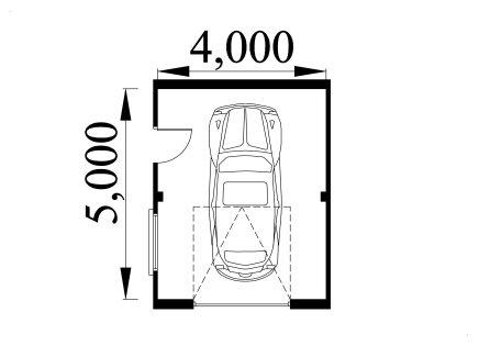 Single storey garage plan 4050a for Garage plans uk