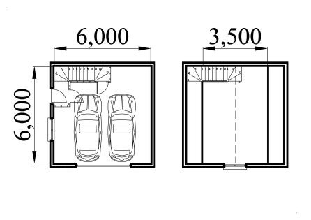 Loft Garage Plans - Draw Unique Garage Plans with Loft
