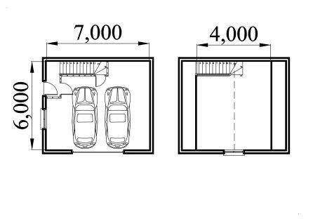 On mobs garage plans loft space for 24x40 garage plans