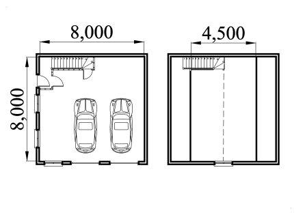 Very popular images craftsman style garage designs for Garage plans uk