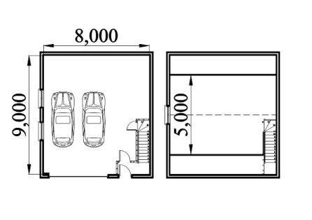 http www.askthebuilder.com how-to-garage-shelving-ideas - GARAGE LOFT PLAN SMALL House Plans & Home Designs